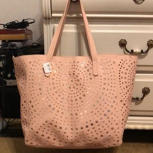 Large Pink Tote NEVER USED